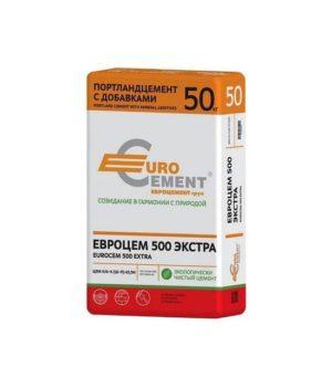 Цемент М-500 Евроцемент 50кг