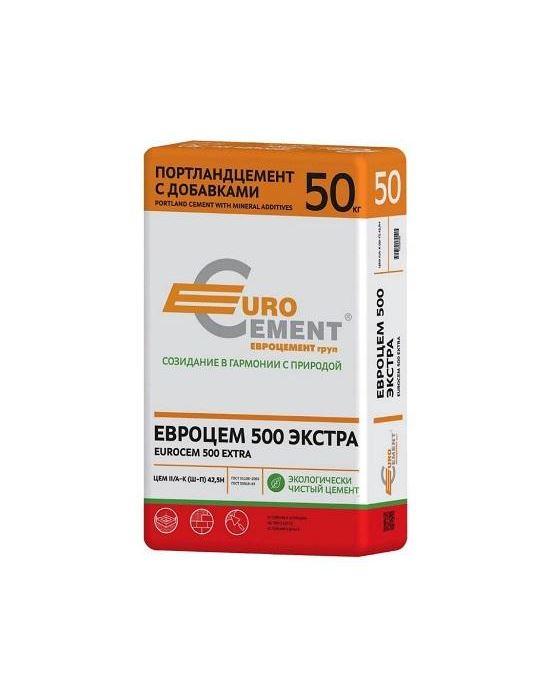 Цемент М-500 ЕВРО 50кг.