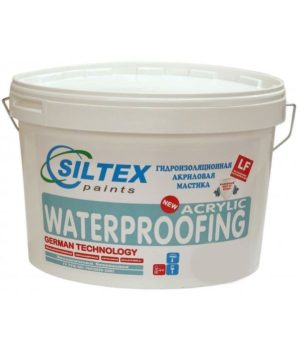 Мастика гидроизоляционная WaterProffing (SILTEX профи) 5кг