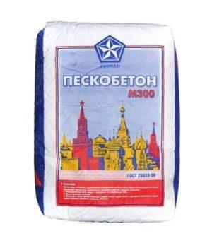Пескобетон М 300 РУСЕАН 40кг