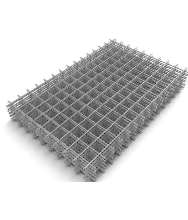 Сетка сварная кладочная металлическая 100*100*3 мм