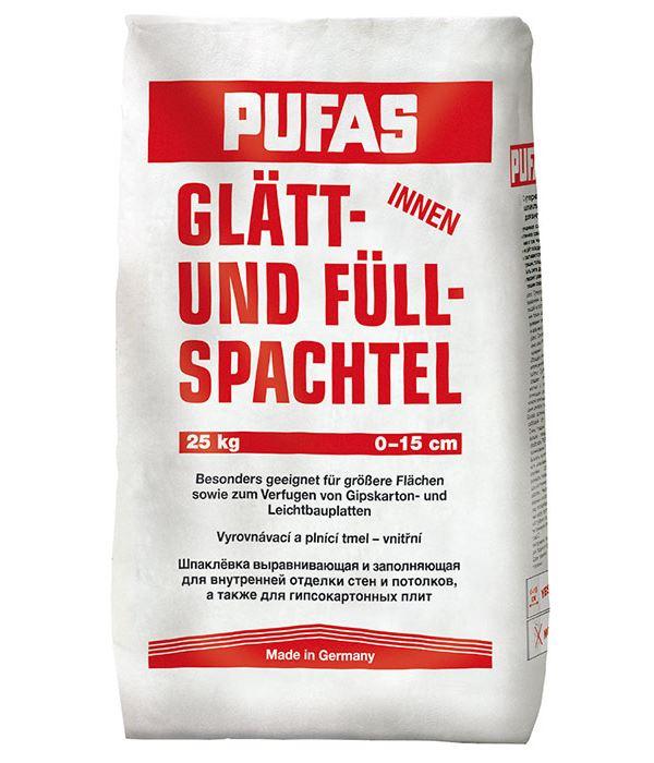 Шпаклевка гипсовая ПУФАС Glatt-und Fullspachtel