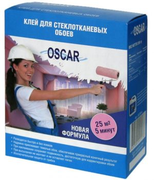 Клей для стеклообоев стеклохолста OSCAR сухой 400гр