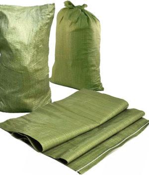 Мешки строительные зеленые под мусор