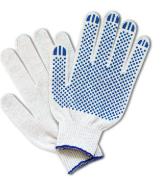 перчатки рабочие строительные хб